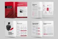 Sharp Annual Report #format#word#ms#size | Alice In in Annual Report Template Word