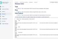 Shocking Software Release Notes Template Ideas Sample in Software Release Notes Template Word
