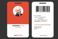 Showcase And Discover Creative Work On The World's Leading throughout Id Badge Template Word