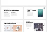 Simple And Clean Powerpoint Template – Free Ppt Theme with regard to Biography Powerpoint Template