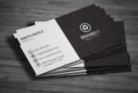 Simple Black & White Business Cardmadearslan On for Black And White Business Cards Templates Free