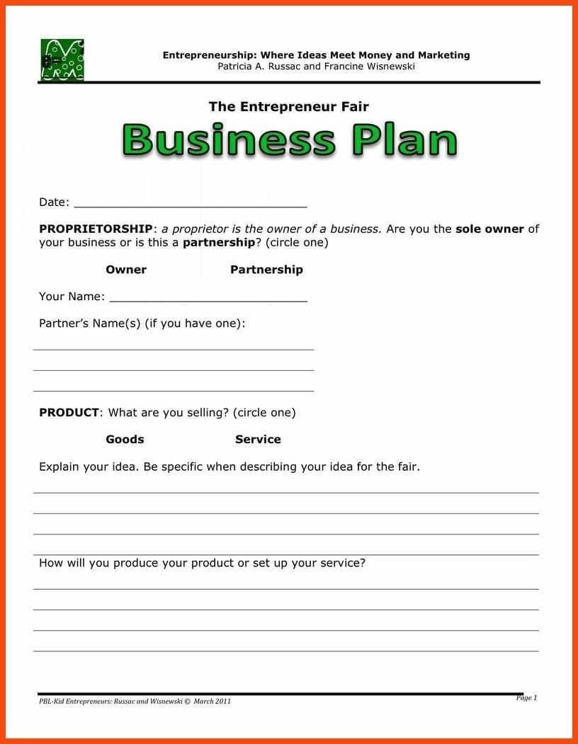 Simple Business Plan Template Word | Program Format Inside Business Plan Template Free Word Document