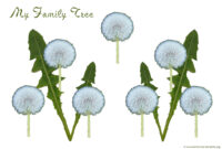 Simple Family Tree With 3 Generations For The Small Child with Blank Family Tree Template 3 Generations