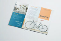 Simple Tri Fold Brochure | Brochure Design, Pamphlet Design with regard to 3 Fold Brochure Template Free Download