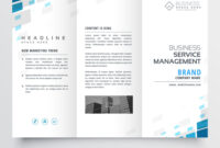 Simple Trifold Business Brochure Template Design pertaining to Free Tri Fold Business Brochure Templates