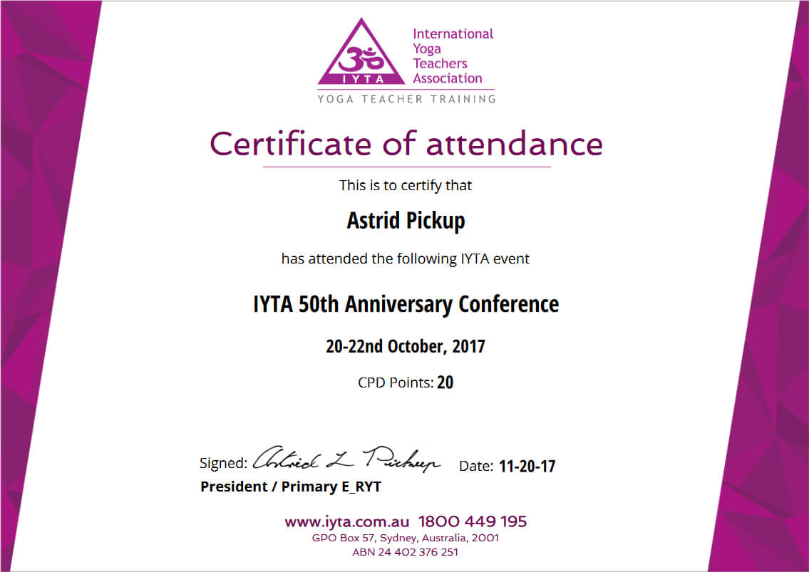 Simplecert Certificates Of Attendance With Certificate Of Attendance Conference Template