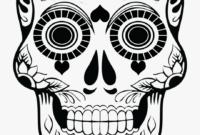 Skull Clipart Candy – Blank Sugar Skull Outline regarding Blank Sugar Skull Template