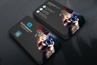 Smart Photography Business Card Corporate Identity Template In Photographer Id Card Template