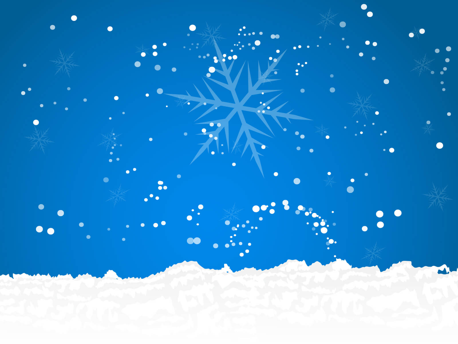 Snow Powerpoint - Free Ppt Backgrounds And Templates With Regard To Snow Powerpoint Template
