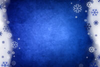 Snowy Blue Abstract Powerpoint Templates – Blue, Christmas throughout Snow Powerpoint Template