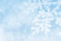 Snowy Sky Backgrounds For Powerpoint – Holiday Ppt Templates with Snow Powerpoint Template
