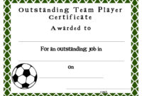 Soccer Award Certificates Template | Kiddo Shelter in Athletic Certificate Template