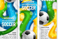 Soccer Ball Banner Of Football Sport Club Template within Sports Banner Templates