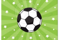 Soccer Ball Card – Forza.mbiconsultingltd with regard to Soccer Thank You Card Template