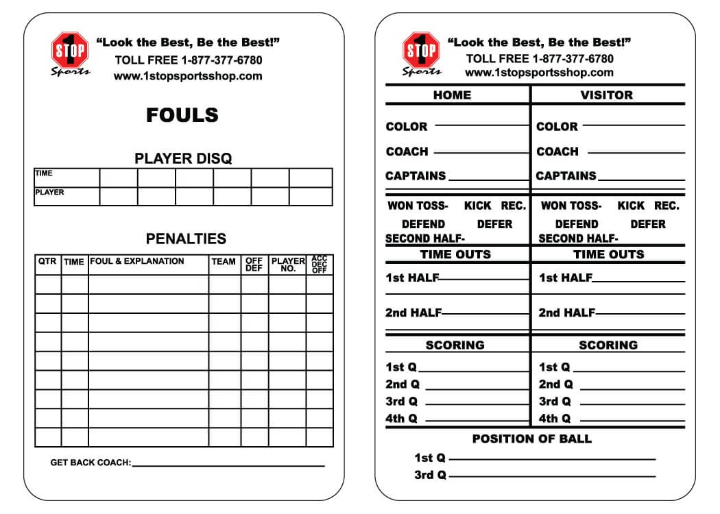 Soccer Referee Game Card Template ] - Ncsl Welcomes A New Intended For Football Referee Game Card Template
