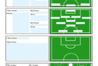 Soccer Scouting Template | Football Coaching Drills throughout Coaches Report Template
