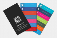 Social Media Cards | Business Card Template Word, Business inside Blank Business Card Template Photoshop