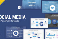 Social Media Free Powerpoint Template Ppt Slides – Slidesalad in Powerpoint Sample Templates Free Download