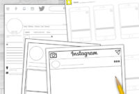 Social Media Template Bundle Instagram, Snapchat, & Twitter intended for Book Report Template In Spanish