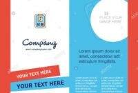 Social Media User Profile Company Brochure Template. Vector regarding Social Media Brochure Template