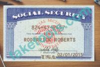 Social Security Card Psd Template | Psd Templates, Card regarding Blank Social Security Card Template