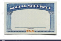 Social Security Stock Photos & Social Security Stock Images with Fake Social Security Card Template Download