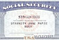 Social+Security+Card+Blank | Cards, Blank Cards, Card Templates in Blank Social Security Card Template