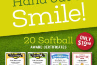 Softball Certificates And Coaching Forms | Softball Coach intended for Softball Certificate Templates