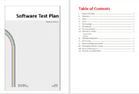 Software Test Plan Template – Word Templates with regard to Software Test Plan Template Word