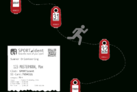 Solutions · Sportident with regard to Orienteering Control Card Template