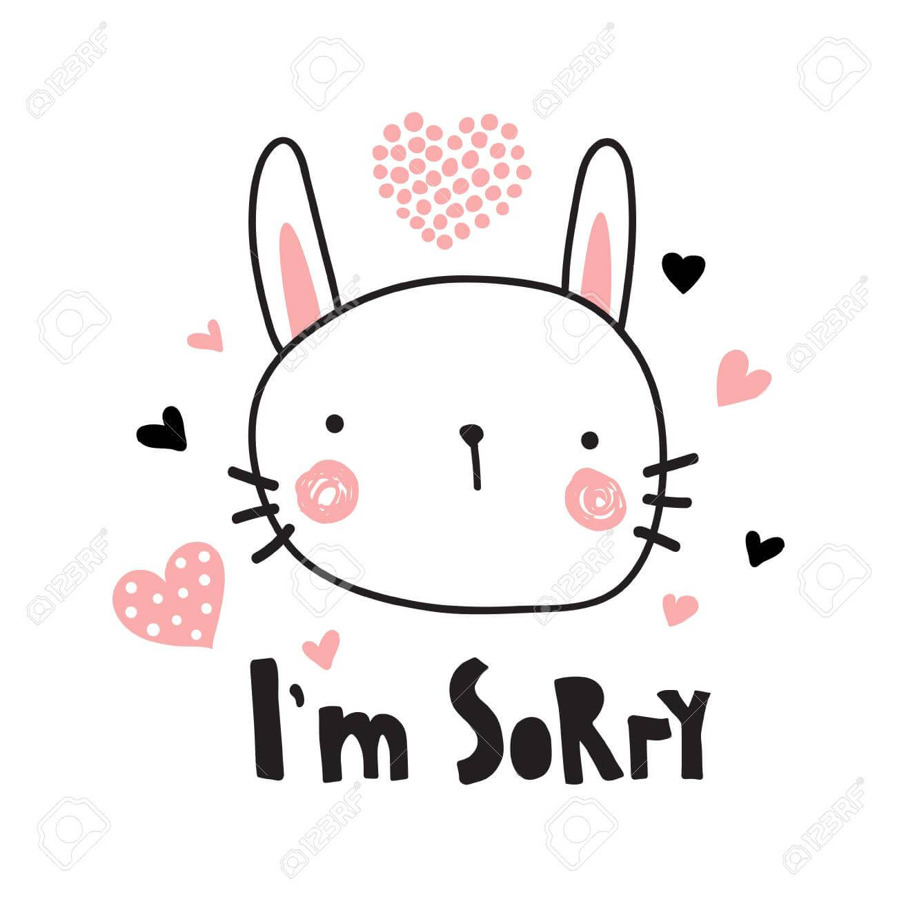 Sorry Card Template – Makar.bwong.co Pertaining To Sorry Card Template