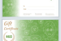 Spa Massage Gift Certificate Template for Massage Gift Certificate Template Free Download