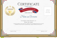 Sport Award Certificate Template Free | Resume Professional Throughout Participation Certificate Templates Free Download