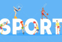Sport Banner Template, People People Doing Different Kinds with Sports Banner Templates