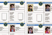 Spy Id Card | We Also Sent Each Boy Home With His Own Set Of throughout Spy Id Card Template