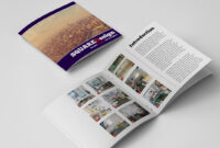 Square Design Brochure Template with Membership Brochure Template