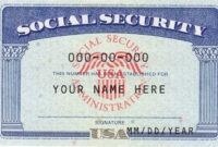 Ssn Editable Social Security Card Social Security Card throughout Social Security Card Template Free