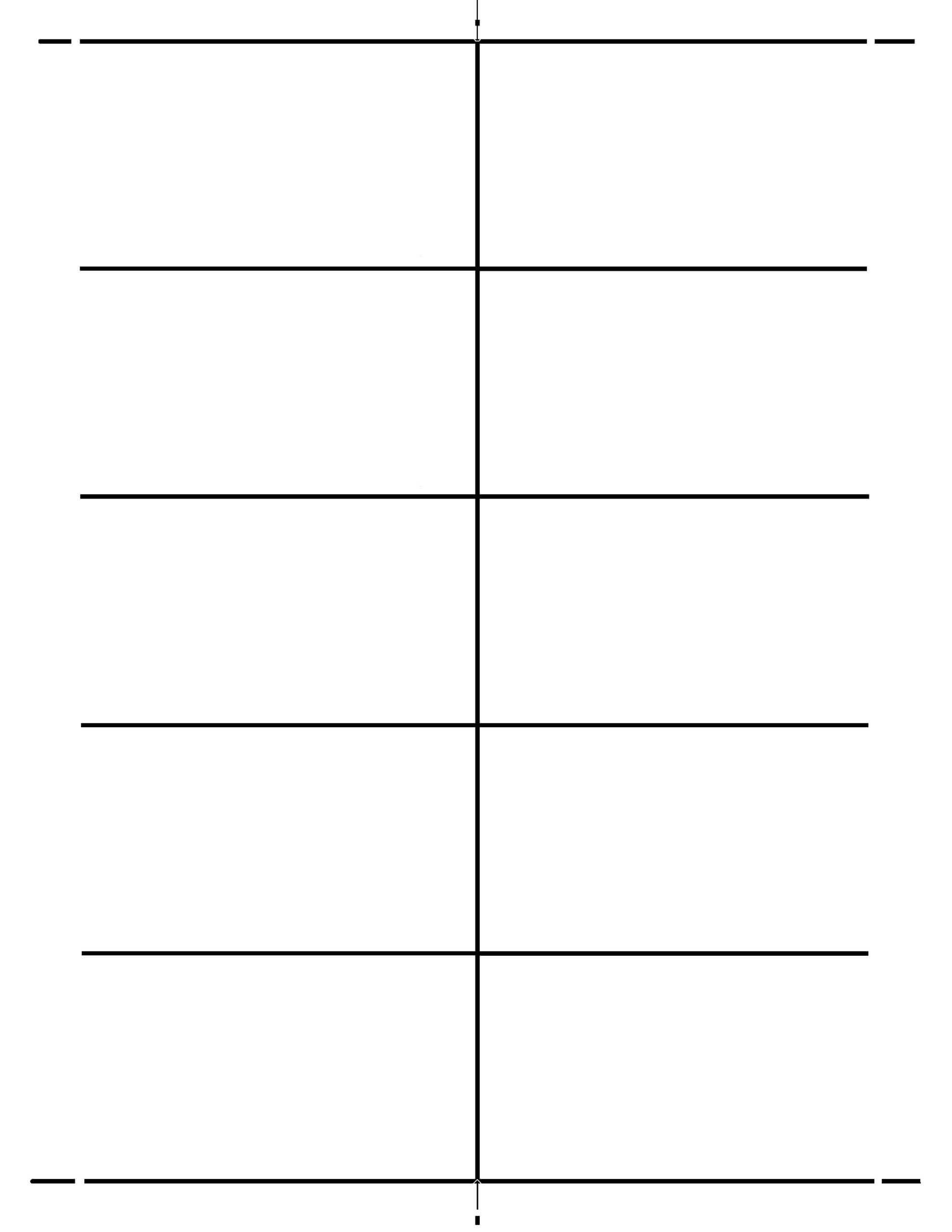 standard blank business card template word mac design
