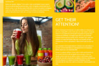 Start Today Nutrition Flyer Template In Nutrition Brochure Template