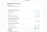 Statement Of Cash Flows For Business | Xero Blog pertaining to Cash Position Report Template