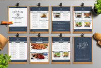 Steps To Create Menu Cards | Free & Premium Templates with regard to Frequent Diner Card Template