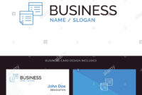 Sticky, Files, Note, Notes, Office, Pages, Paper Blue throughout Pages Business Card Template