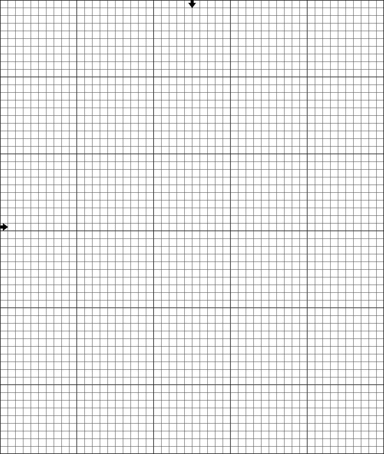 Stitch Up A Happy Birthday Surprise For Yourself Or As A Within Blank Perler Bead Template