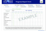 Student Progress Report Letter Template | Sample Customer intended for Company Progress Report Template