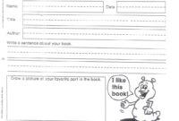 Summer Book Report – Mrs. Kozlowski's First Grade with regard to First Grade Book Report Template