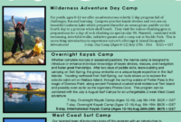Summer Camp Brochure Template – 4 Free Templates In Pdf intended for Summer Camp Brochure Template Free Download