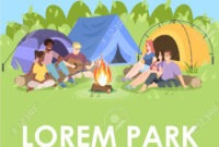 Summer Camp Brochure Template. Outdoor Recreation Flyer, Booklet,.. intended for Summer Camp Brochure Template Free Download