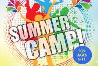 Summer Camp Flyer Idea | Summer Camp Crafts, Summer Camps for Summer Camp Brochure Template Free Download