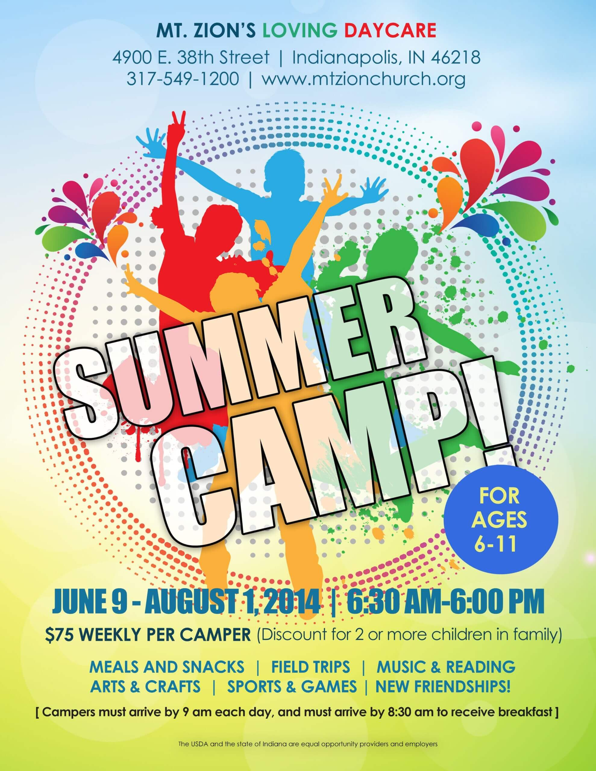Summer Camp Flyer Idea | Summer Camp Crafts, Summer Camps For Summer Camp Brochure Template Free Download