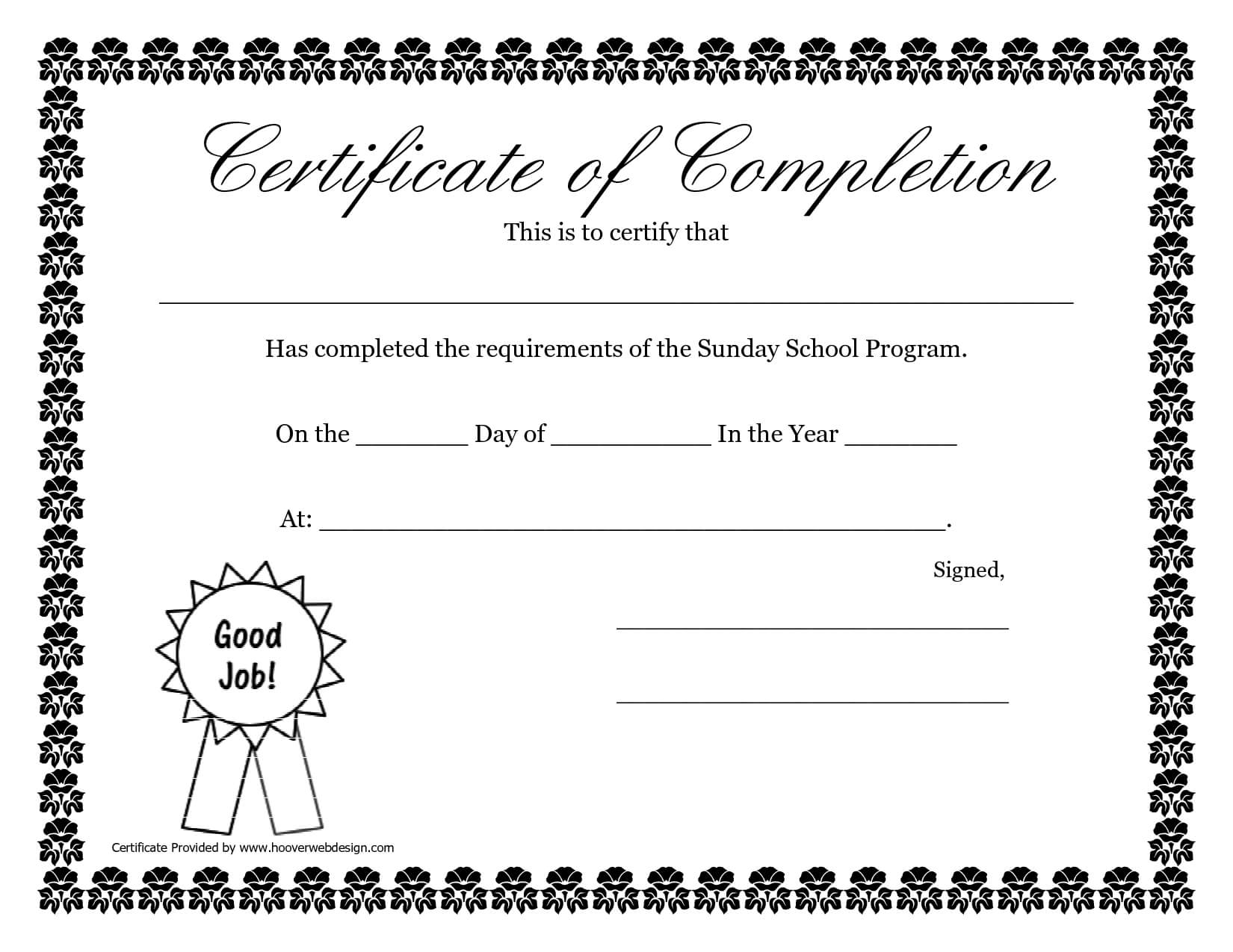 Sunday School Promotion Day Certificates | Sunday School Pertaining To Promotion Certificate Template